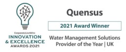 Corporate live wire water management award 2021